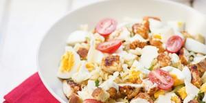 Salade-de-pates-poulet-tex-mex-et-basilic-cookeez