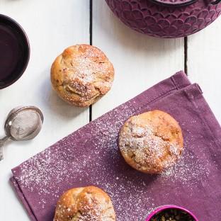 Muffins-rhubarbe-framboises-cookeez